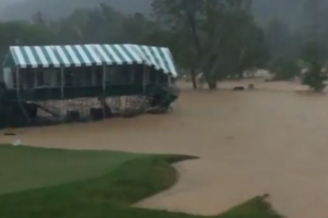 Greenbrier Under Water