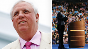 Jim Justice and Obama