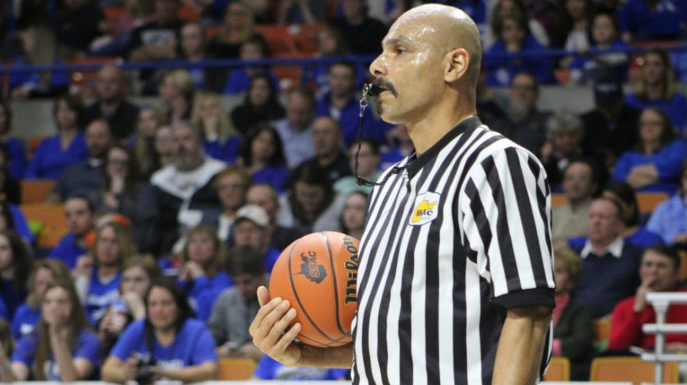 Ref at Championship Game